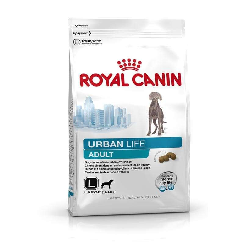 Royal Canin Lifestyle Health Nutrition - Urban Life Adult Large 9 kg, 3 kg