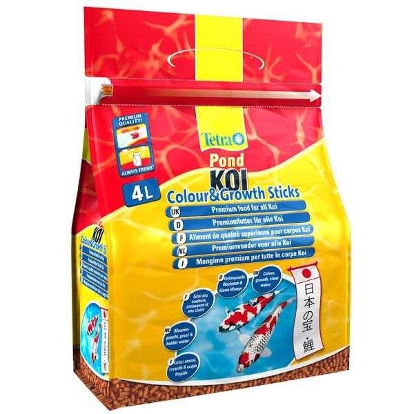 Tetra Pond Koi Sticks Colour & Growth 4 l  met korting aantrekkelijk en goedkoop kopen