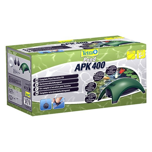 Tetra Pond APK 400 Air Pump Kit  4004218187351