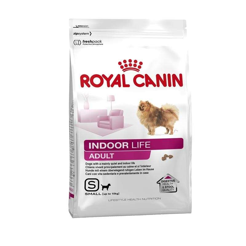 Royal Canin Lifestyle Health Nutrition - Indoor Life Adult Small 1.5 kg, 3 kg, 500 g, 7.5 kg