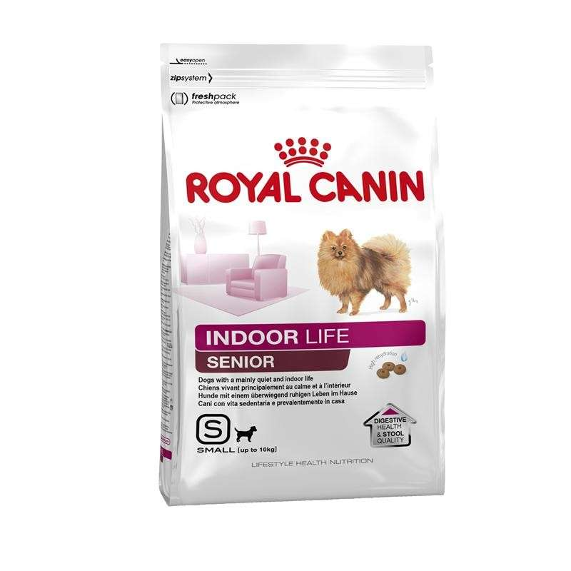 Royal Canin Lifestyle Health Nutrition - Indoor Life Senior Small 500 g, 3 kg, 1.5 kg kjøp billig med rabatt