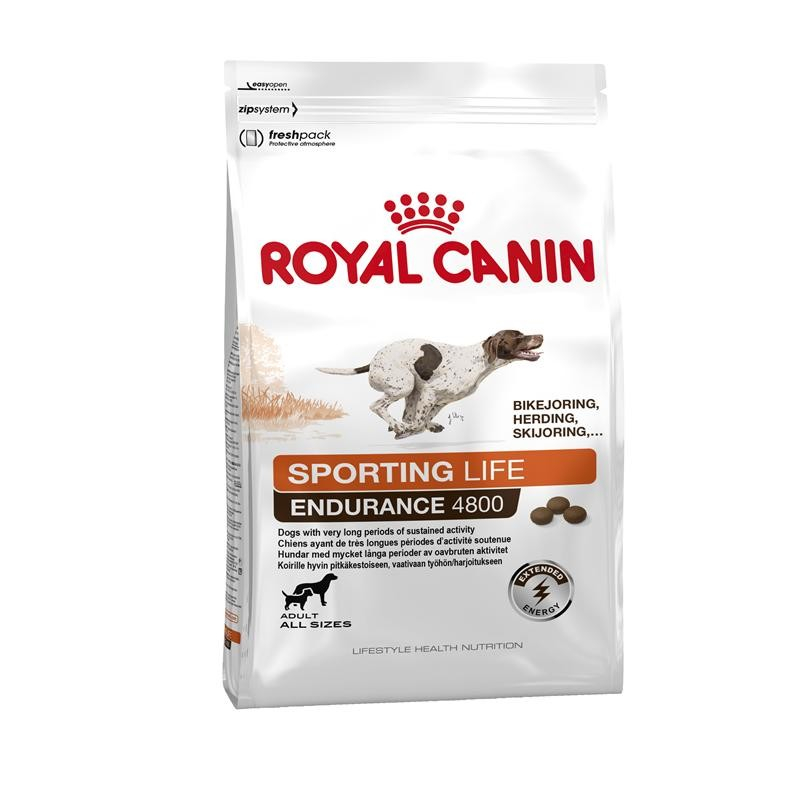 Royal Canin Lifestyle Health Nutrition - Sporting Life Endurance 4800 3 kg, 15 kg, 1 kg kjøp billig med rabatt