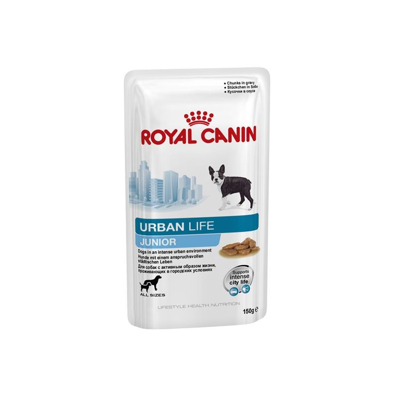 Royal Canin Lifestyle Health Nutrition - Urban Life Junior i Sovs 150 g