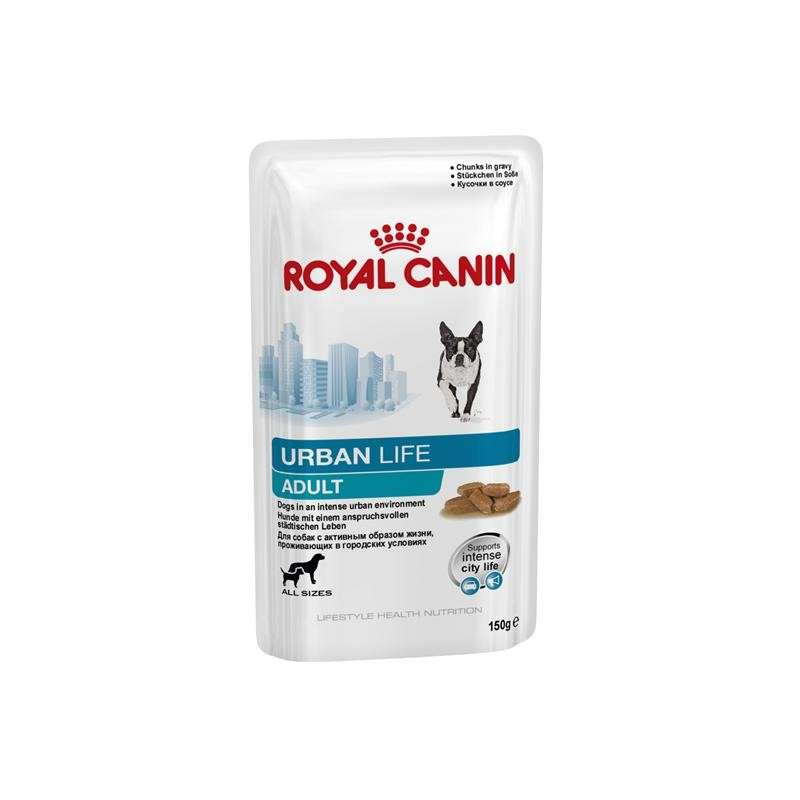 Royal Canin Lifestyle Health Nutrition - Urban Life Adult i Saus 150 g kjøp billig med rabatt