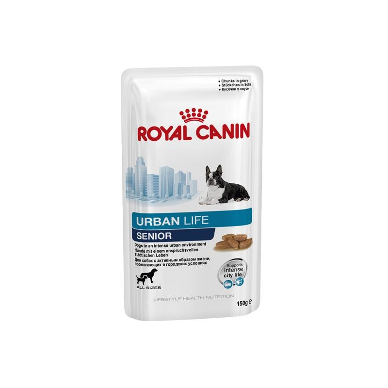 Royal Canin Lifestyle Health Nutrition Urban Life Senior in Saus 150 g 9003579312025