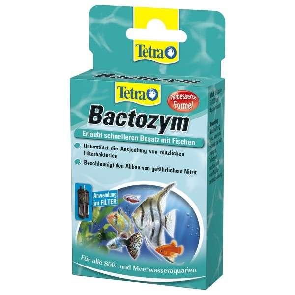 Bactozym 10 Kapseln   von Tetra bei Zoobio.at