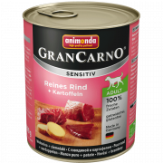 Animonda GranCarno Sensitive Adult Pure Beef + Potatoes 800 g