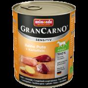 GranCarno Sensitive Adult Pure Turkey + Potatoes 800 g