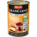 Animonda GranCarno Sensitive Adult Dinde + Pommes de terre 400 g