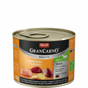 GranCarno Sensitive Adult Pure Turkey + Potatoes 200 g