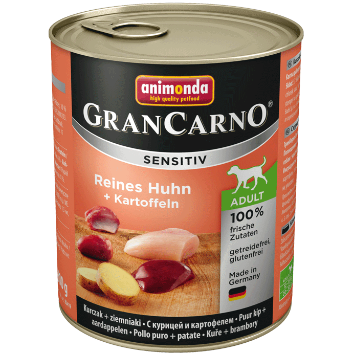 Animonda GranCarno Sensitive Adult Chicken + Potatoes 800 g