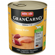 Animonda GranCarno Sensitive Adult Dinde Pure 800 g