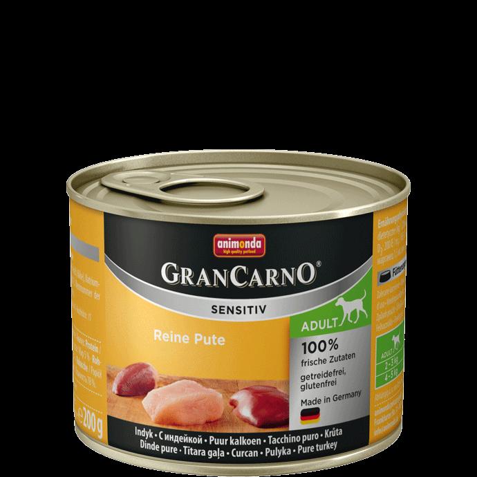 Animonda GranCarno Adult Sensitive Dinde Pure 200 g