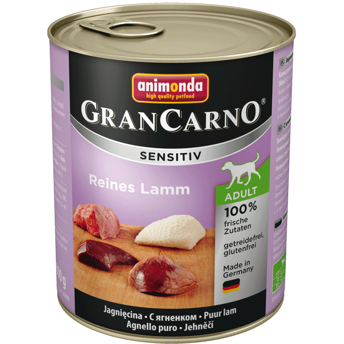 Animonda GranCarno Sensitive Adult Pure Lamb 800 g