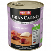 Animonda GranCarno Sensitive Adult Carne pura de Cordeiro 6x800g