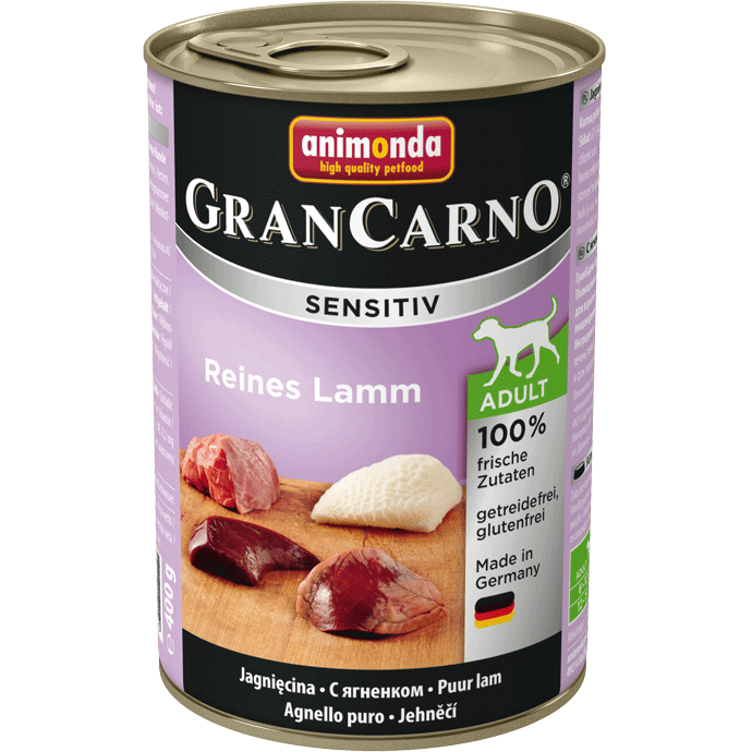 Animonda GranCarno Sensitive Adult Pure Lamb 400 g