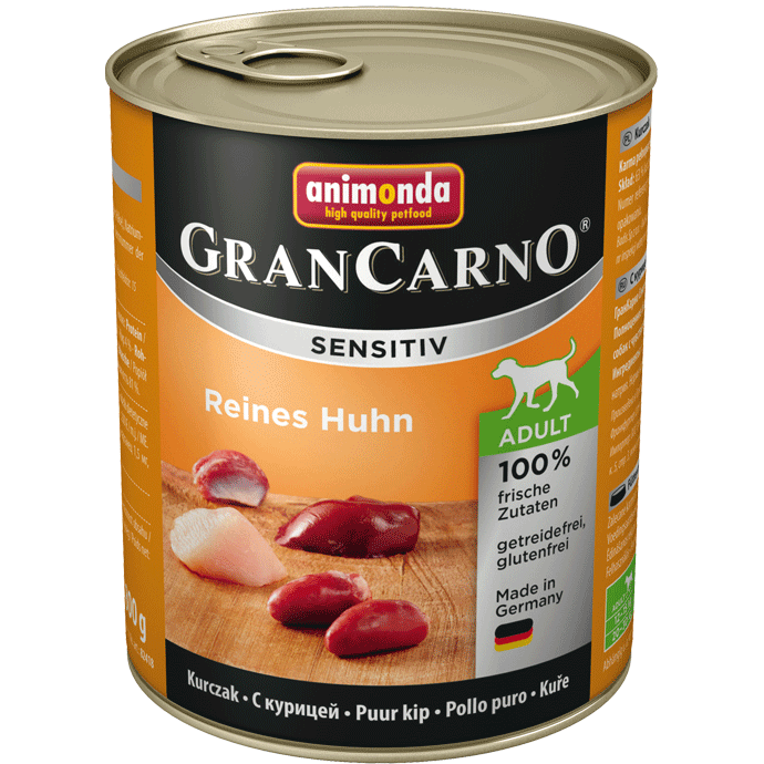 Animonda GranCarno Sensitive Adult Chicken 800 g