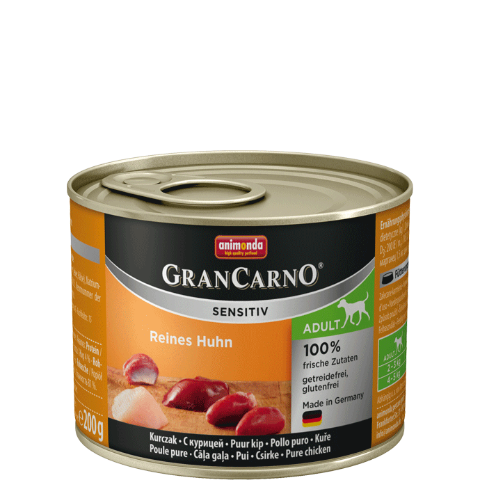 Animonda GranCarno Sensitive Adult Chicken 200 g, 400 g, 800 g