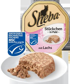 Sheba Bidder i Paté Laks 85 g test
