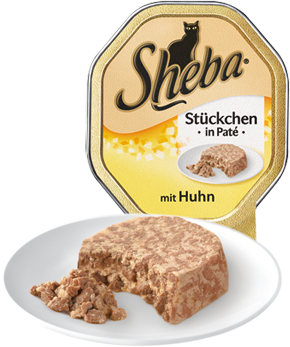 Sheba Bidder i Paté Kylling 85 g 3065890125766 anmeldelser