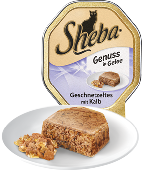 Tender Pieces in Jelly Strips of Veal 85g by Sheba 85 g buy online