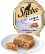 Tender Pieces in Jelly Strips of Veal 85g from Sheba 85 g