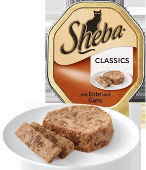 Sheba Classics con Pato y Ganso 85 g