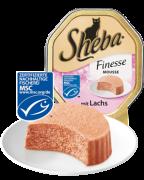 Sheba Schale Finesse Mousse salmão 85 g aos melhores preços