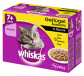 Whiskas Multipack 7+ Poultry Selection in Sauce 12x100 g, 24x100 g