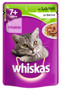 Pouch 7+ with Lamb in Jelly 100 g fra Whiskas