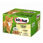 Kitekat Poultry Variety in Jelly, Multipack 24x100 g