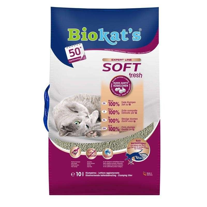 Biokat's Soft Fresh 10 l  osta edullisesti