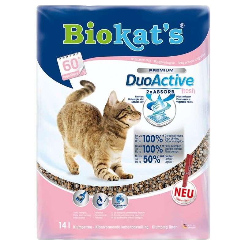 Biokat's Duo Active Fresh 10 l  met korting aantrekkelijk en goedkoop kopen