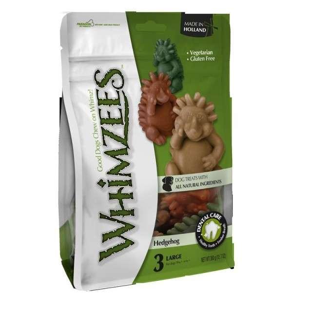 Whimzees Igel Size XL 16x120 g, 120 g, 360 g køb rimeligt og favoribelt med rabat
