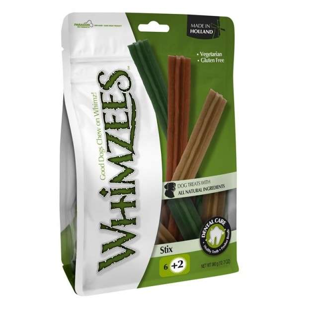 Whimzees Sticks 60 g, 50x60 g, 360 g