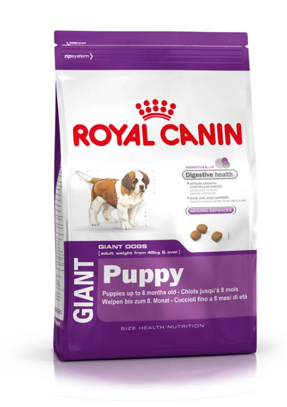 Royal Canin Size Health Nutrition Giant Puppy 4 kg 3182550707039 erfaringer
