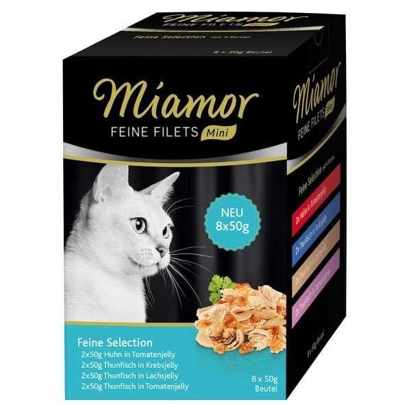 Miamor Fijne Filets  mini pouch multibox 8x50 g