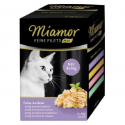 Miamor Feine Filets Mini Multibox Feine Auslese 8x50 g