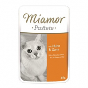 Miamor Portionsposer Paté - Kylling & gås 85 g