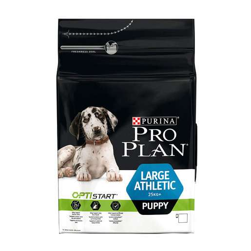 Purina Pro Plan Large Puppy Athletic - Optistart Kylling 3 kg, 12 kg test