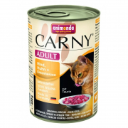 Carny Adult Beef, Chicken + Duck Hearts 400 g