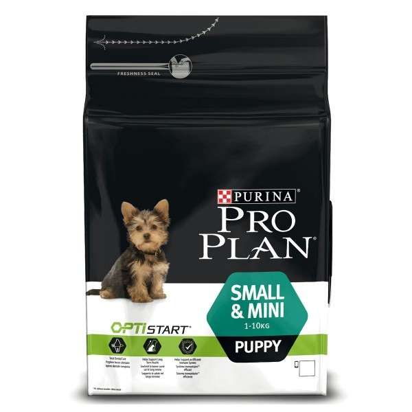 Purina Pro Plan Small & Mini Puppy - Optistart rijk aan kip 700 g, 7 kg, 3 kg