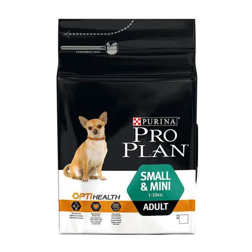 Purina Pro Plan Small & Mini Adult - Optihealth rik på Kyckling 3 kg köp billiga på nätet