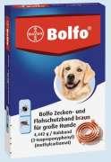 Bolfo Collier de Protection contre Puces pour Grands Chiens 65cm Base de Poudre