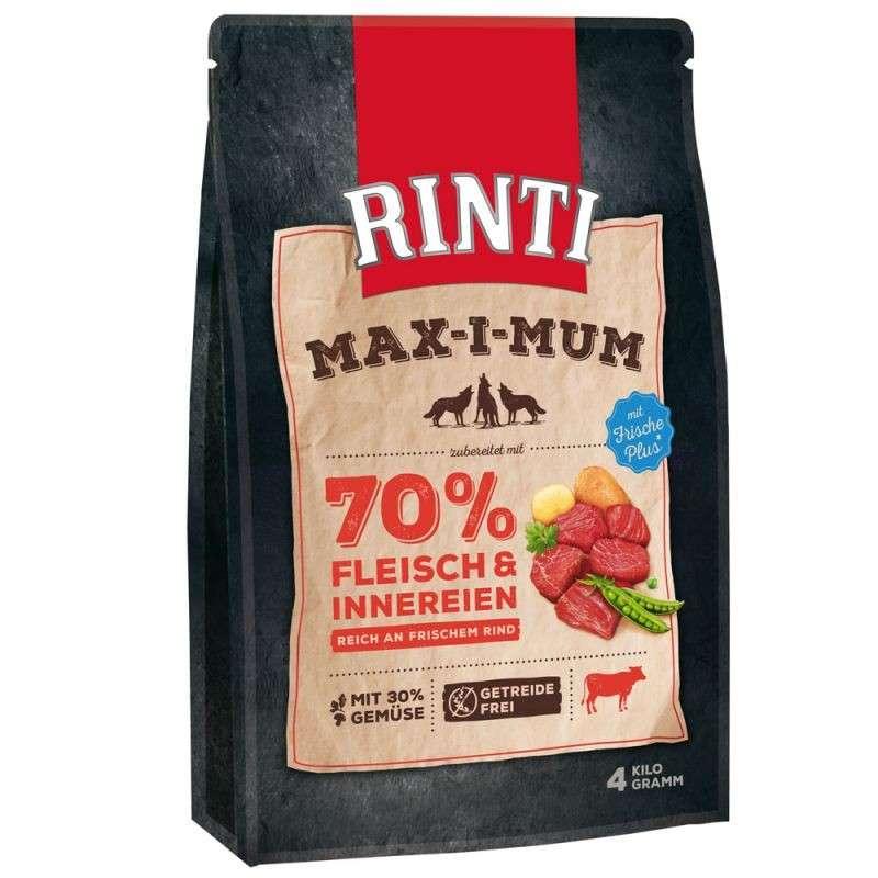 Rinti Max-i-mum oksekød 4 kg