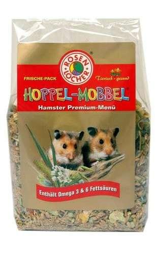 Rosenlöcher Hoppel Mobbel Hamster Premium Menu 500 g