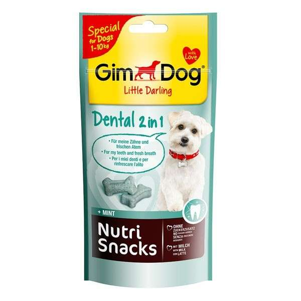 GimDog Nutri Snacks Dental 2in1 40 g