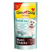 GimDog Nutri Snacks Dental 2 in 1 40 g