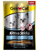 GimCat Kitten sticks with Turkey & Calcium 9 g