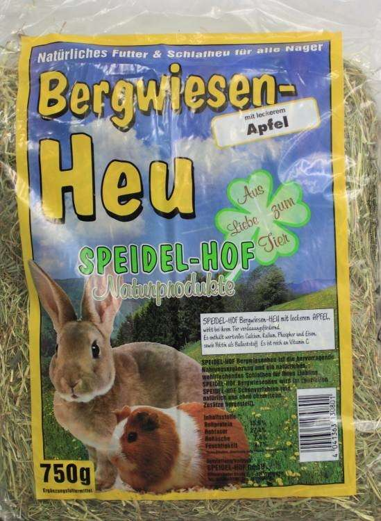 Speidel-Hof Mountain Hay with Apples 750 g